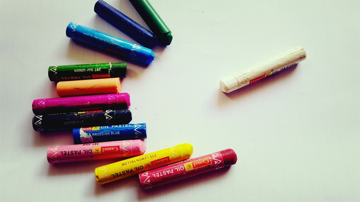 Through the eyes of a White Crayon